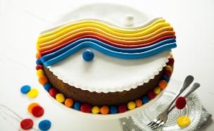 בצק סוכר יצירת אמנות  (צילום: אפיק גבאי ,אוכל טוב)