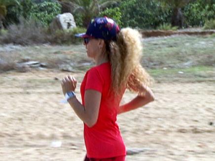 נשות טירה נאבקות על החופש לרוץ (צילום: חדשות 2)