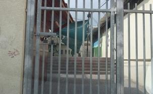 מאבטח בית ספר הותקף, ארכיון (צילום: פוראת נסאר)