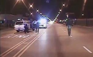 תיעוד הירי. התמונות קשות לצפייה (צילום: יוטיוב)