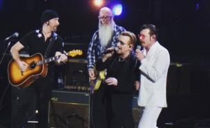 Eagles of Death Metal ו-U2 בפריז (צילום: פייסבוק (איגלז אוף דת' מטאל רשמי))