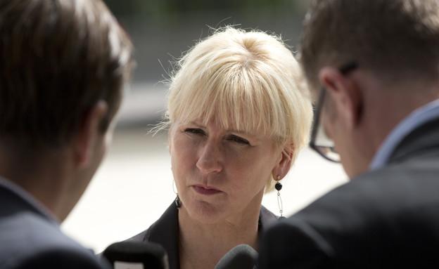 מרגוט וולסטרום, שרת החוץ של שבדיה (צילום: ap ,ap)