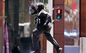 מעצר אחד השחודים בטרור באוסטרליה (צילום: רויטרס)