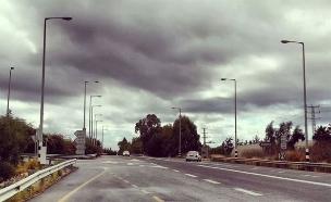 היום: קר וגשום בעקיר במרכז ובדרום (צילום: טל יוסף)