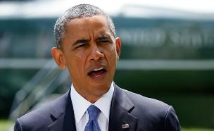 """""""הישג מול דאע""""ש"""". אובמה (צילום: רויטרס)"""