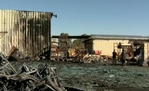 שריפות בצפון בניסיון לגרור לפרוטקשן (צילום: חדשות 2)