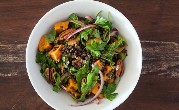 אתגר האוכל הבריא עדשים (צילום: אסף רונן ,אוכל טוב)