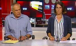 """צפו בעימות עם מנכ""""לית ארגון """"שוברים שתיקה"""" (צילום: חדשות 2)"""