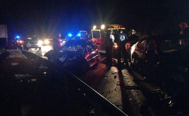 טרם ידוע מה הוביל לתאונה (צילום: פאדי אומבאשי)
