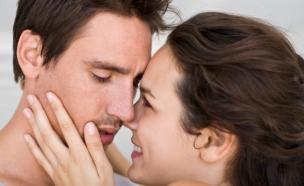 זוג מתנשק (צילום: אימג'בנק / Thinkstock)