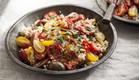 מתכון מהיר ובריא: סלט קוסקוס ועגבניות צלויות