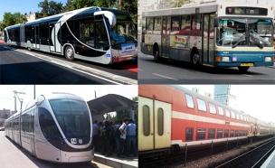 מנוי אחד - כל כלי התחבורה (צילום: משרד התחבורה, חדשות 2)