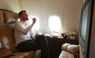 הטיסה היקרה בעולם (צילום: thepointsguy.com)