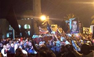 המהומות ברהט, ינואר 2015 (צילום: sonara.net)