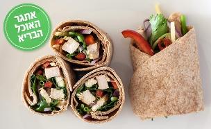 אתגר האוכל הבריא טורטייה (צילום: אסף רונן ,אוכל טוב)