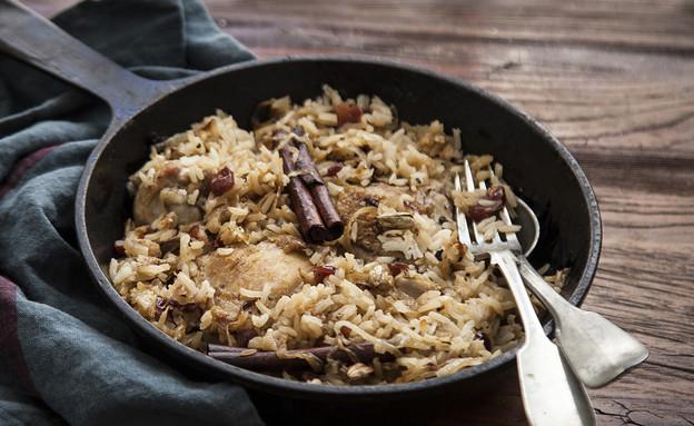 עוף עם אורז ותבלינים (צילום: אפיק גבאי ,אוכל טוב)