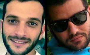 שמעון רווימי, אלון בקל - פיגוע הירי בתל אביב (צילום: חדשות 2)