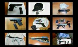 נשק לא חוקי שנאסף במגזר הערבי