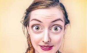 אישה פעורות עיניים (צילום: Gratisography ,mako)