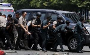 פיגוע באינדונזיה (צילום: חדשות 2)