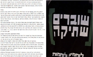 """פעיל שוברים שתיקה, אבנר גבריהו (צילום: מתוך סרטון של """"שלום עכשיו"""")"""