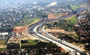 הכביש החדש של תושבי השרון (צילום: חברת נתיבי ישראל)