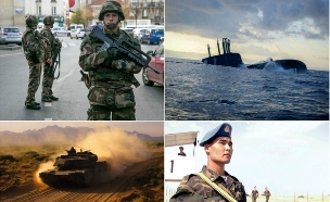 איזה צבא חזק יותר (צילום: getty images ,getty images)