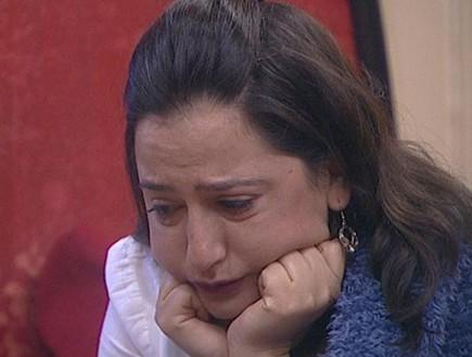 פלורי בוכה בנסט (צילום: מתוך האח הגדול עונה 7 ,שידורי קשת)