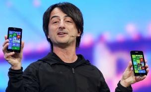 ג'ו בלפיורי, הפנים של Windows Phone (צילום: מיקרוסופט ,מיקרוסופט)