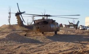 זירת התאונה בצאלים, בשבוע שעבר (צילום: קבוצת מדברים תקשורת)