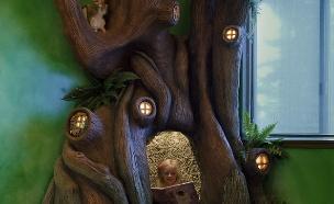 הילדה שגרה בתוך עץ (צילום: צילום מסך ,מעריב לנוער)