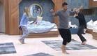הדיירים רוקדים לצלילי שיר הבוקר (צילום: מתוך האח הגדול עונה 7 ,שידורי קשת)