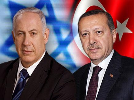 בנימין נתניהו וארדואן ראש ממשלת טורקיה