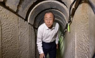 """באן: """"המנהרות גורמות לנזק חמור"""" (צילום: חיים צח, לע""""מ)"""