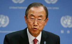 """""""הצעירים מתייאשים מהכיבוש"""", מזכ""""ל האו""""ם (צילום: רויטרס)"""