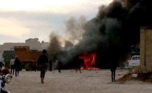 """דמשק: 60 הרוגים בפיגוע דעא""""ש (ארכיון)"""