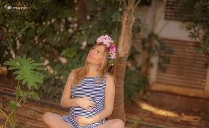 ניצן מלכה צילומי הריון (צילום: דנה אופיר)
