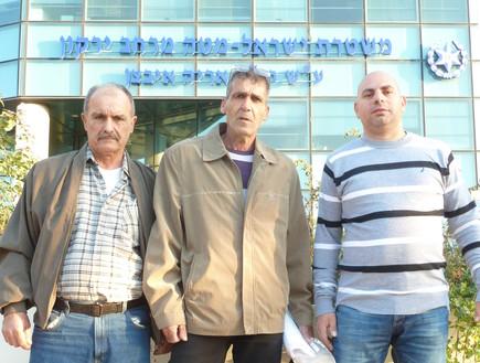 השוטרים השקופים (צילום: שמעון איפרגן)