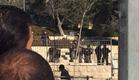 זירת הפיגוע בשער שכם (צילום: קבוצת מדברים תקשורת)