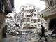 """""""מי שיתקוף יחזור בארון"""", סוריה (צילום: רויטרס)"""