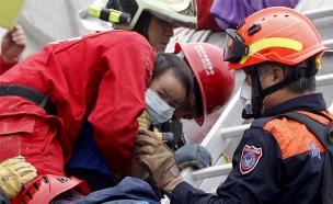 רעידת אדמה בטיוואן (צילום: חדשות 2)