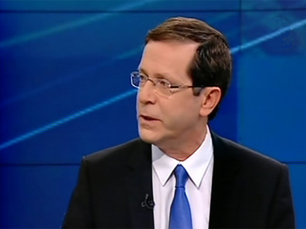 צפו בריאיון עם יצחק הרצוג (צילום: חדשות 2)