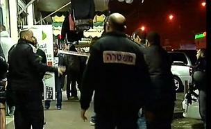 זירת הפיגוע ברהט (צילום: חדשות 2)