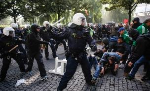 הפגנות בשטוקהולם, שוודיה (צילום: חדשות 2)