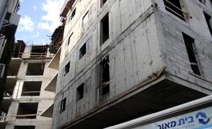אתר בנייה, בניין (צילום: חדשות 2)