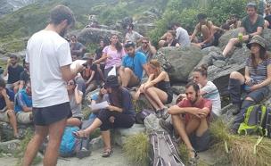 ניו זילנד, טיול לזכרו של הדר גולדין (צילום: חדשות 2)