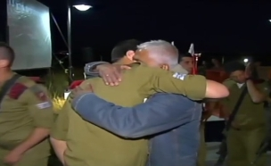 צוות פז משתחרר (צילום: חדשות 2)