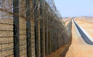 גדר הביטחון בירדן (צילום: חדשות 2)