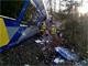 זירתה תאונה בבוואריה (צילום: טוויטר)