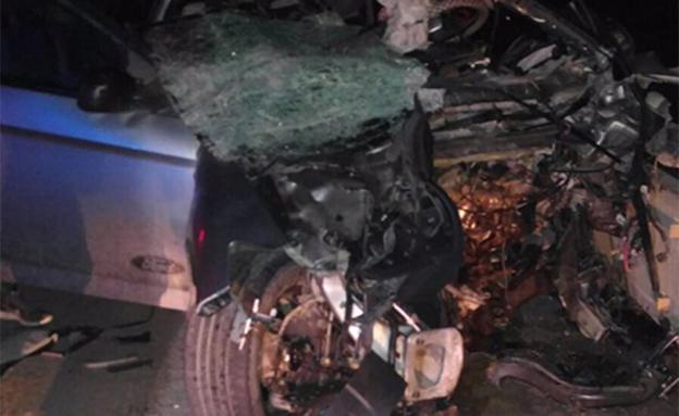 תאונה קשה בנגב: 3 פצועים אנוש. ארכיון